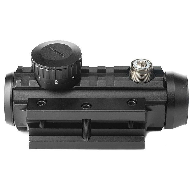 Коллиматорный прицел Konus SightPro Dual 1-2x30 с увеличением крепление Weaver или призма 11 мм
