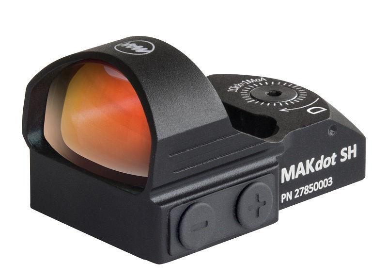 Прицел MAKdot SH с точкой 3,5 MOA и креплением на оружейную планку коллиматорный