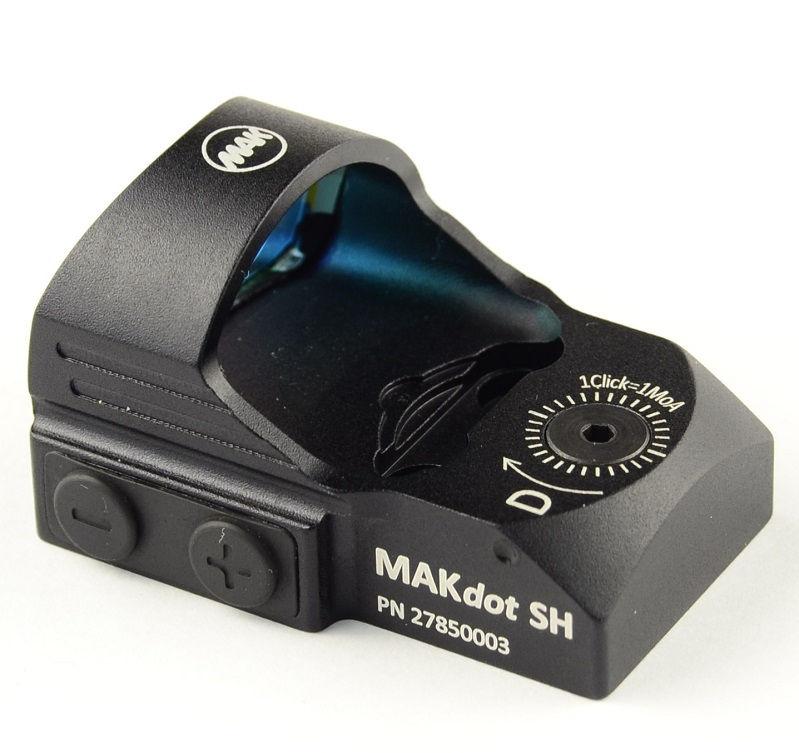 Прицел MAKdot SH с точкой 3,5 MOA и креплением на Weaver коллиматорный