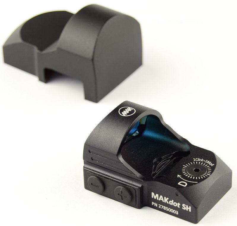 Прицел MAKdot SH с точкой 3,5 MOA и креплением на ласточкин хвост 11 мм коллиматорный