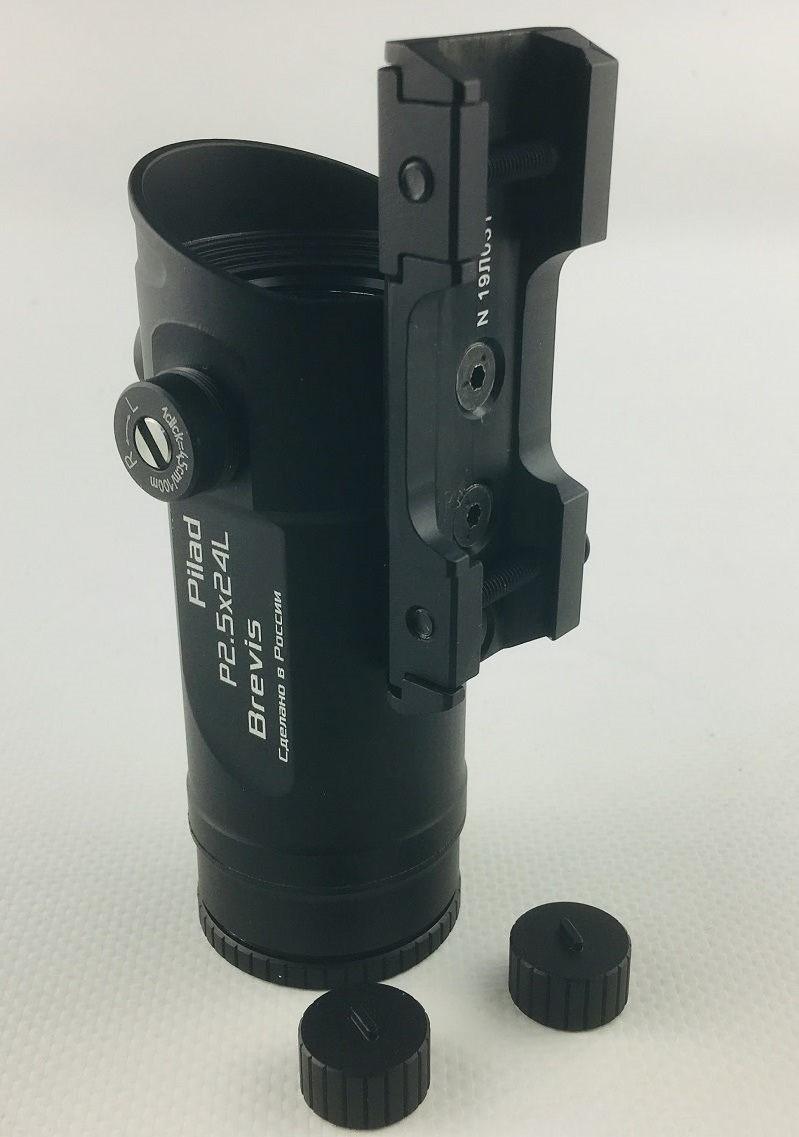 Прицел ВОМЗ Pilad Р2.5х24L Brevis с баллистической сеткой LHS 1-400 призматический