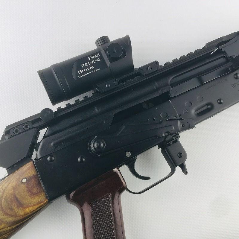 Прицел ВОМЗ Pilad Р2.5х24L Brevis с баллистической сеткой LCD400 призматический