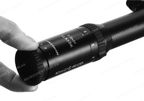 Прицел Schmidt & Bender Klassik 4-16x50 FFP АО с сеткой P3 BDC H+S без подсветки оптический