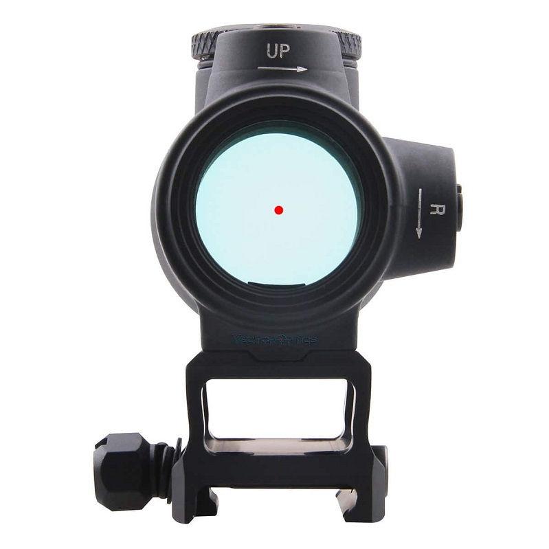 Прицел коллиматорный Vector Optics Centurion 1x30 Red Dot с креплением на Weaver / Picatinny