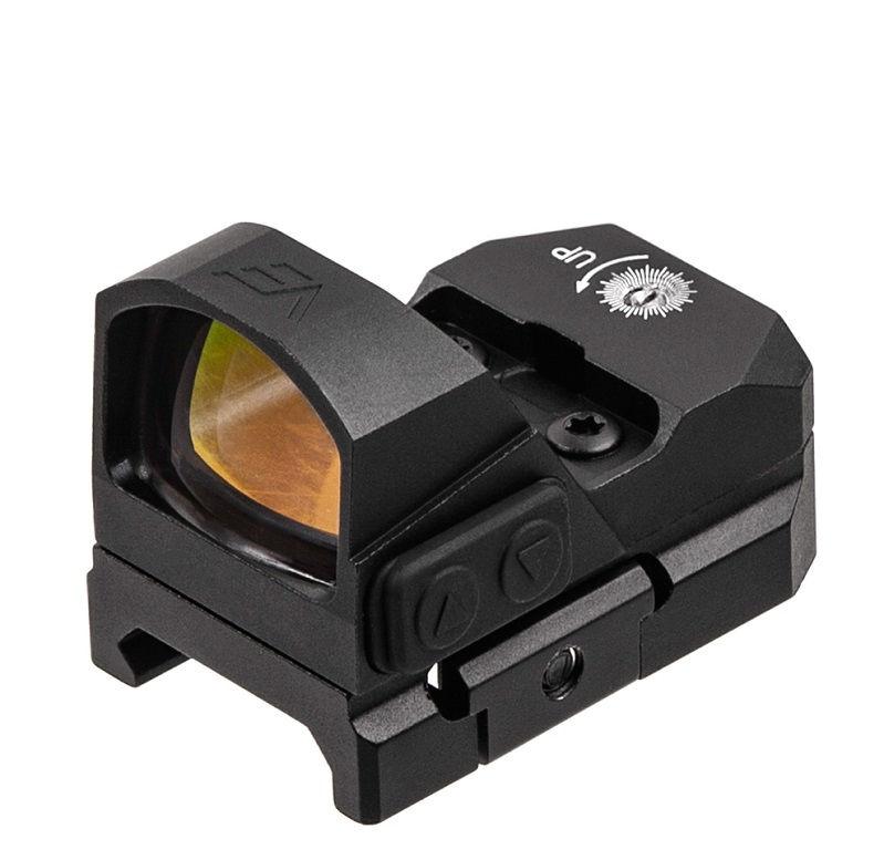 Прицел коллиматорный Vector Optics Frenzy 1x17x24 RD (VT) с креплением на Weaver / Picatinny