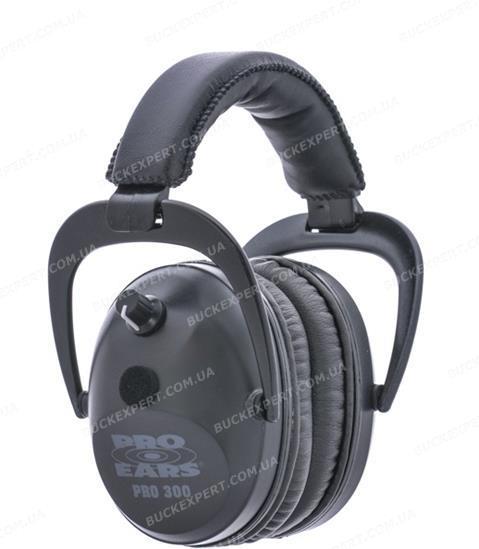 Наушники стрелковые активные Pro Ears Pro 300 Black стерео