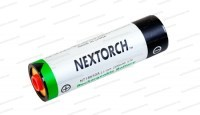 Аккумуляторная литиевая батарейка NexTORCH для фонарей myTorch