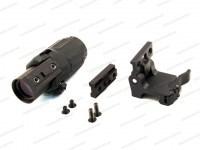 Увеличитель EOTech 3x Magnifier откидной для коллиматорных прицелов