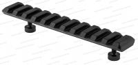 Планка Mak с Picatinny / Weaver для установки на единые основания МАК длина 120 мм