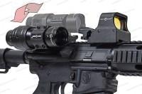 Увеличитель Sightmark 3x Tactical Magnifier откидной совместимый с EOTech и Aimpoint