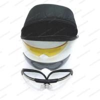 Очки стрелковые Artilux Sporty Kit набор с 3 линзами и сменными регулируемыми дужками