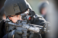 Прицел Aimpoint PRO (Patrol Rifle Optic) с откидными крышками и режимами для ПНВ коллиматорный