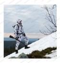 Костюм Alaska Superior BlindTech Snow Camo с мембраной Rain Stop 10000 / 8000 всесезонный