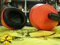 Стрелковые наушники Artilux Arton пассивные 23 дБ красные