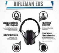 Наушники Bench Master Rifleman EXS моно стрелковые активные