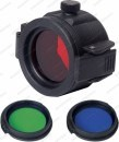Крышка для фонарей Nextorch с тремя светофильтрами