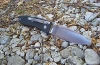 Нож LionSteel Big Opera G10 лезвие 90 мм рукоять черная