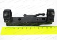 Кронштейн Contessa на 12 мм призму или основание Contessa с кольцами 26 мм длина 115 мм расст. между кольцами 100 мм