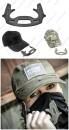 Кепка FAB Defense для самообороны с кастетом под козырьком