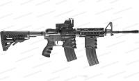 Тактическая рукоятка Fab Defense с держателем под магазин M16/M4/AR-15