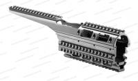 Цевье (квадрейл) Fab Defense для АК 47 / 74 / Сайга алюминий