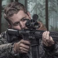 Коллиматорный прицел Firefield Agility 1x30 Hunting с мульти сеткой зеленого и красного цвета на Weaver