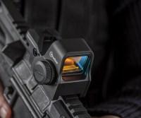 Коллиматорный прицел Sightmark Impact XLT Reflex Sight с мульти сеткой и цифровой кнопкой быстросьемный