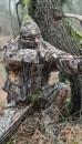 Костюм - накидка маскировочная Hillman Stealthtec Suit фотокамуфляж 3DX