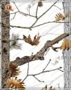 Маска Hillman с мембраной двухсторонняя флисовая цвет камыш / снежный камуфляж