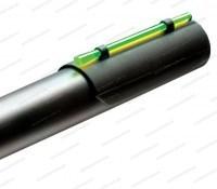 Мушка HiViz Plain Barrel Snap-On наствольная оптоволоконная