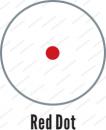 Коллиматорный прицел Holosun Infiniti с датчиком на включение марка точка быстросьемный