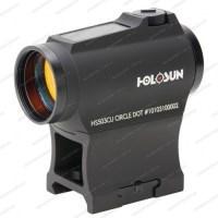 Коллиматорный прицел Holosun Paralow с солнечной батареей марка сменная + крон. (AR-15) + U-защита