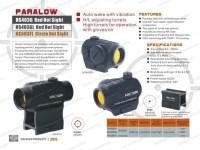 Коллиматор Holosun Paralow HS503FL с откидными крышками + антиблик марка сменная