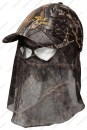 Кепка Jahti Jakt Forest Сamo с москитной сеткой камуфляжная