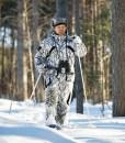 Куртка Jahti Jakt Valle Snow Camo с мембраной Air-Tex2
