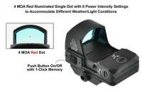 Коллиматорный прицел Leapers UTG Micro Dot с точкой 4 МОА на Weaver не быстросъемный