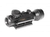 Прицел коллиматорный Sturman 1-2x30 RD с увеличением и креплением на Weaver или ласточкин хвост