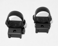 Кольца Innomount 25.4 мм на Weaver / Picatinny быстросъемные
