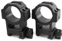 Кольца Leapers UTG 30 мм на Weaver средние легкосьемные винтовой зажим