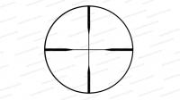 Оптический прицел Konus Konushot 3-12x40 сетка 30/30 Engraved без подсветки