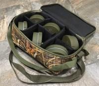 Махокрыл Егерь (аналог приманки Mojo Flock a Fliker) с сумкой в комплекте из 6 штук