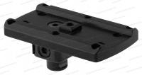 Адаптер MAKlick для коллиматора Aimpoint Micro / Holosun на основание Leupond QR base