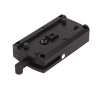Кронштейн MAKlick для коллиматора Aimpoint Micro / Holosun на переднее основание MAK / EAW / Recknagel