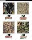 Камуфляжная лента McNett рассветок Mossy Oak многоразовая