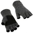 Перчатки - митенки Alaska Half finger шерстяные