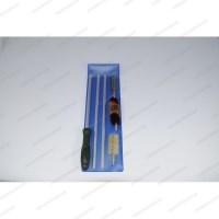 Набор Advance для чистки гладкого оружия с металлическим шомполом пластик