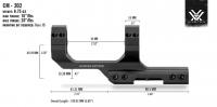 Моноблок Vortex Sport Cantilever 30 мм с выносом 61 мм небыстросьемный