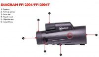 Монокуляр Firefield Siege 10x50R тактический с дальномерной сеткой