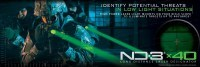 Фонарь - целеуказатель лазерный Laser Genetics ND3х40