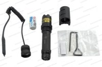 Лазерный целеуказатель Leapers Combat Tactical c системой ввода поправок зеленый луч